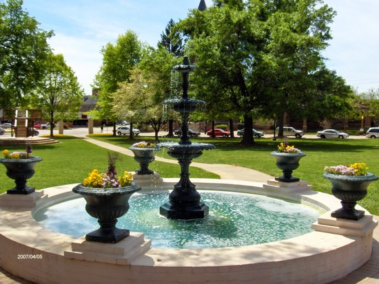 Grounds of Brenau University, Gainesville, Ga