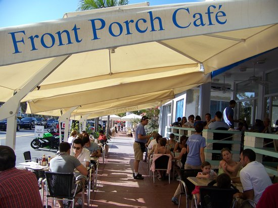 Front Porch Cafe Miami Beach