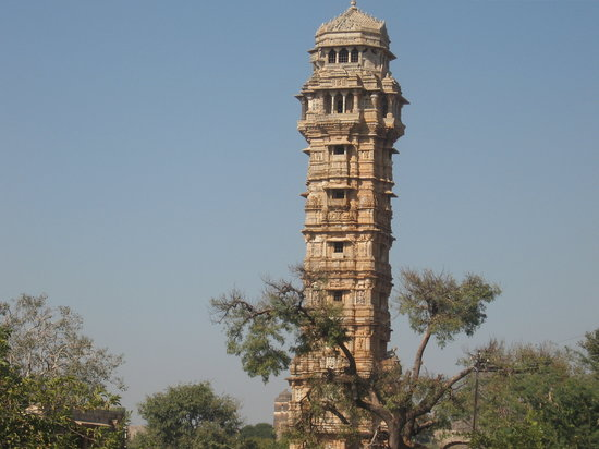 Rajasthan, Indien: victry towr_chittor