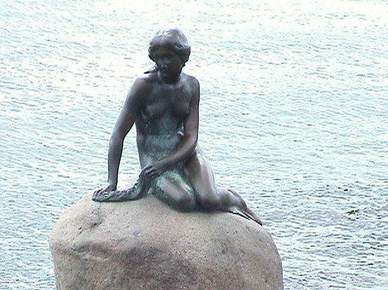 Kpenhamn, Danmark: special lady