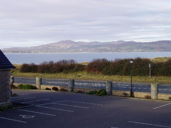 Buncrana, Ireland: Another view from our room