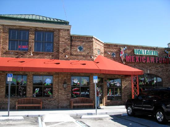 The Outside Of Vallarta Mexican Restaurant Picture Of