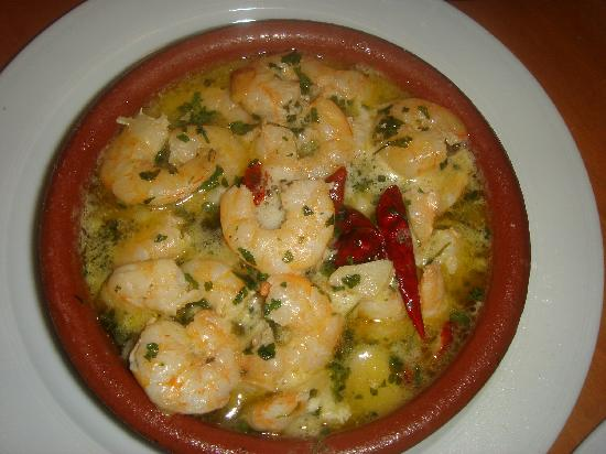 My version of gambas al pil pil « Journeying and journaling