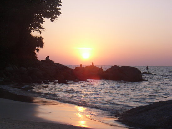 Phuket, Thailand: Sunset at Karon Beach