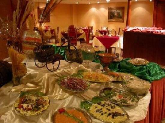 Al-Fanar Palace Hotel: excellent food
