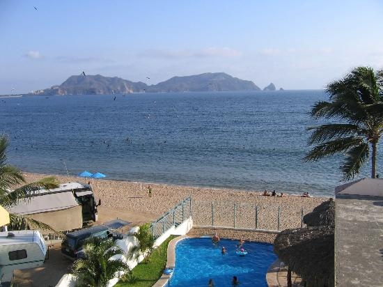 Hotel Puesta del Sol: Puesta Del Sol - View from our room