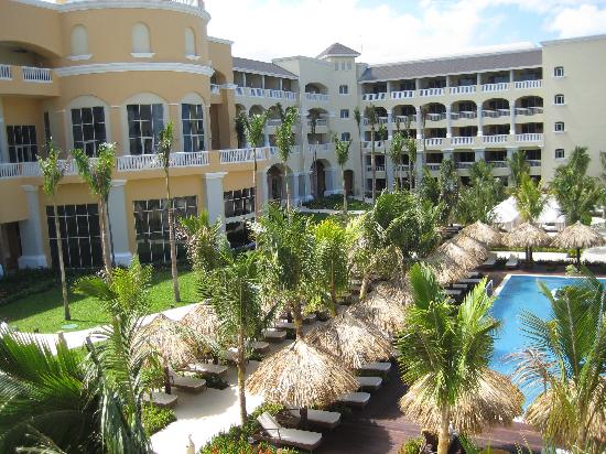 Iberostar Grand Rose Hall: View of the hotel from our room