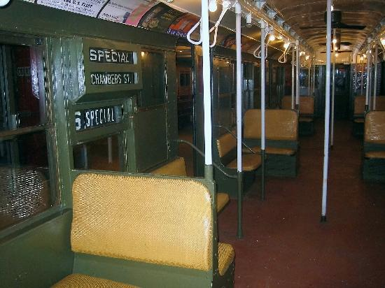old subway train picture of new york transit museum brooklyn tripadvisor. Black Bedroom Furniture Sets. Home Design Ideas