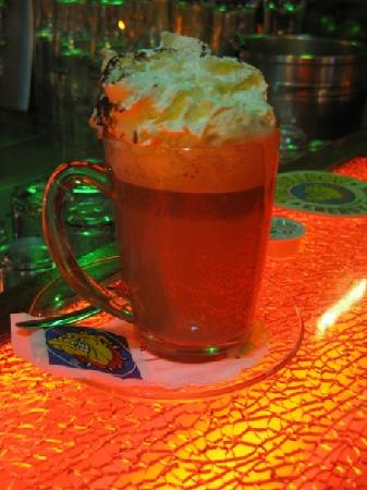 The Bulldog Hotel: A very heady hot chocolate from their bar