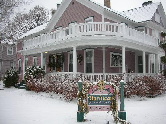 The Barbican Guest House: Wonderful year round - even in winter