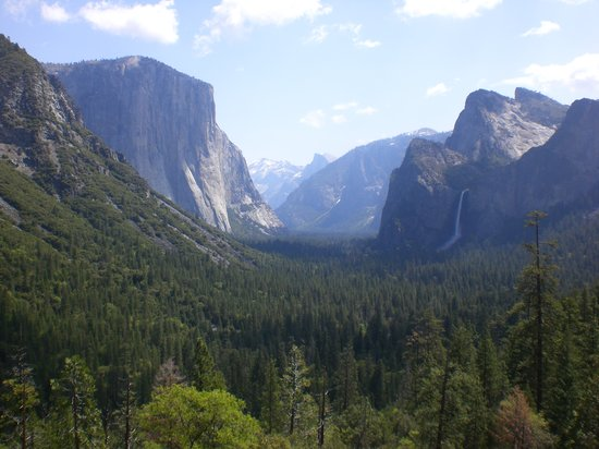 Yosemite nationalpark, Kalifornien: The view!