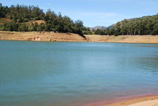 Ootacamund, Inde : Emerald Lake near Ooty