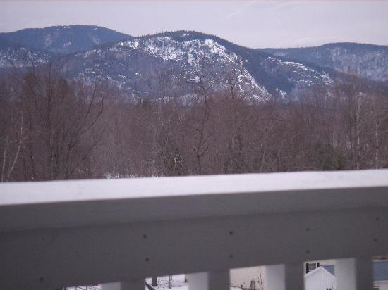 North Conway Mountain Inn: View from room balcony