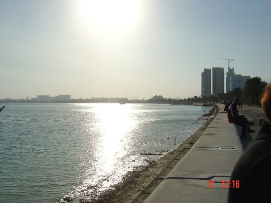 Doha, Qatar: la corniche