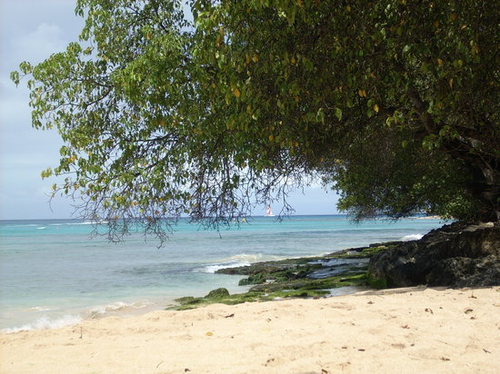Saint Peter Parish, Barbados: The hotels beach