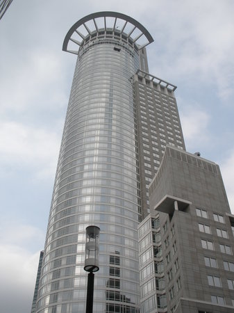 Frankfurt, Almanya: skyscraper