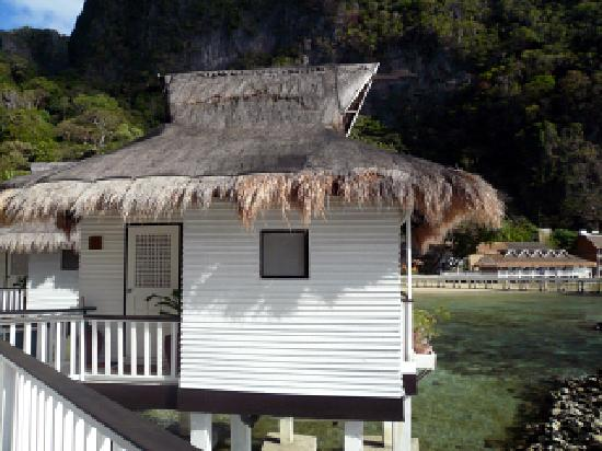 El Nido Resorts Miniloc Island: Water Cottage außen