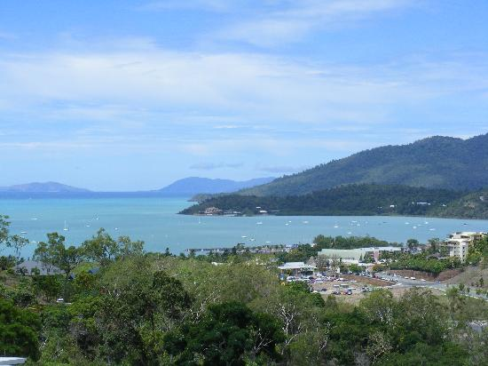 Summit Apartments Airlie Beach: view from the balcony