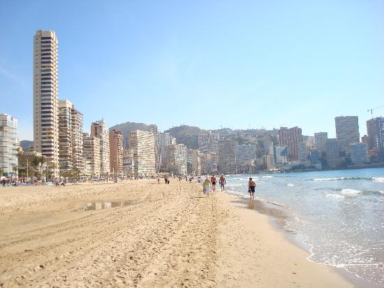 Benidorm Beach Picture Of Servigroup Pueblo Benidorm
