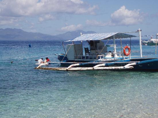 Padre Burgos, Filipinas: One of the dive boats