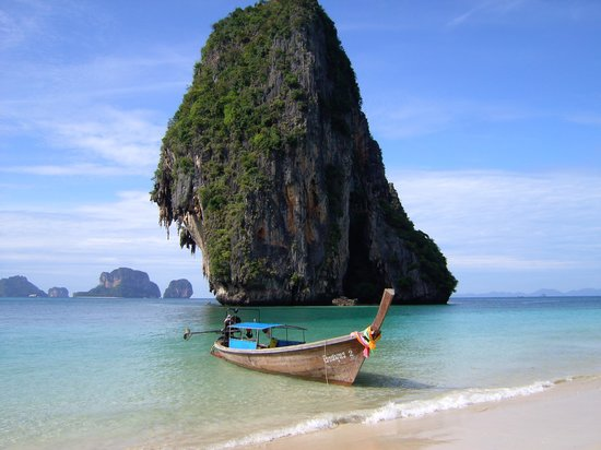 Krabi Town, Thailand: Phranang cave beach