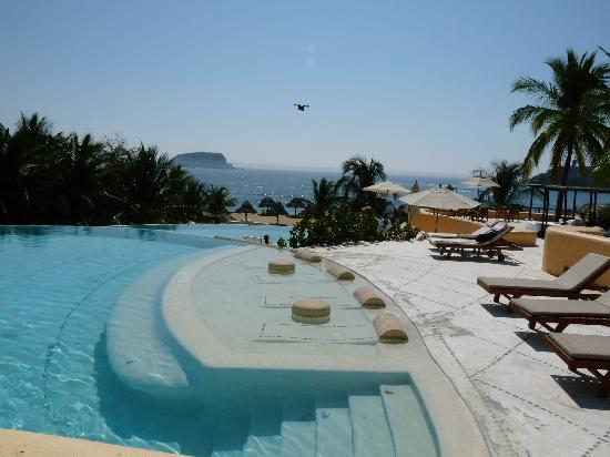 Quinta Real Huatulco : The pool