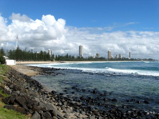 Burleigh Heads, Australien: An image coming back from the National Park