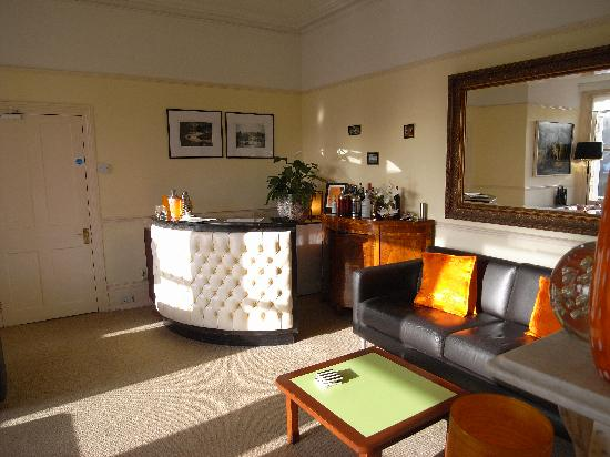 Norbury House Hotel: The lounge at Norbury House