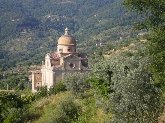 Santa Maria Nuova, built 1550-1600 Cortona