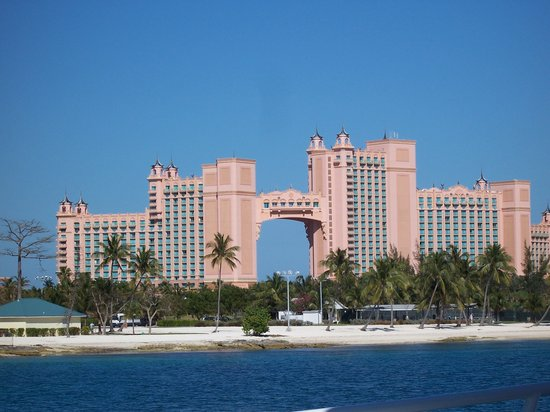 Bahamas: A view of the Royal Towers