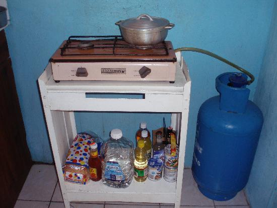 Stove or efficiency gas energy electric first component will