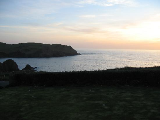 Hope Cove, UK: THE VIEW FROM OUR ROOM