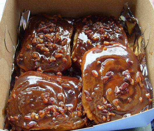 The famous sticky buns that beat Bobby Flay. - Picture of Flour Bakery ...