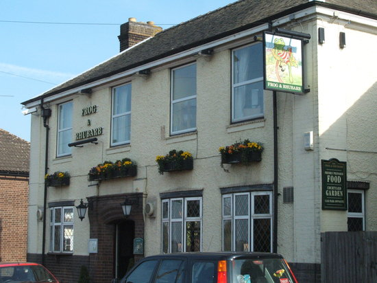 Luton, UK: The pub