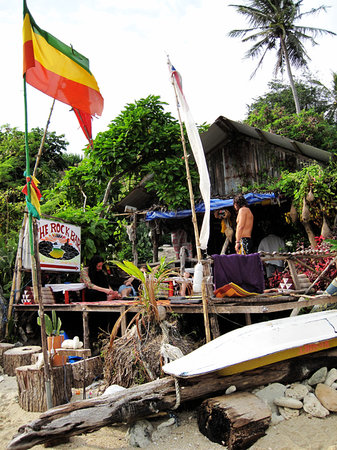 Lamai Beach, Thailand: The Rock Bar