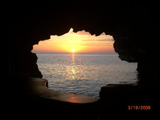 The Caves: Sunset View from Cave