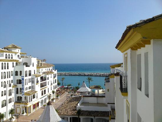 View From Balcony Picture Of Park Plaza Suites Marbella