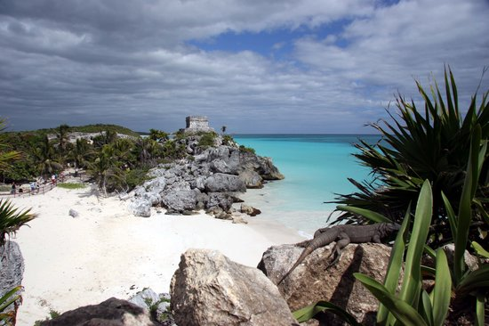 , : beach at tulum