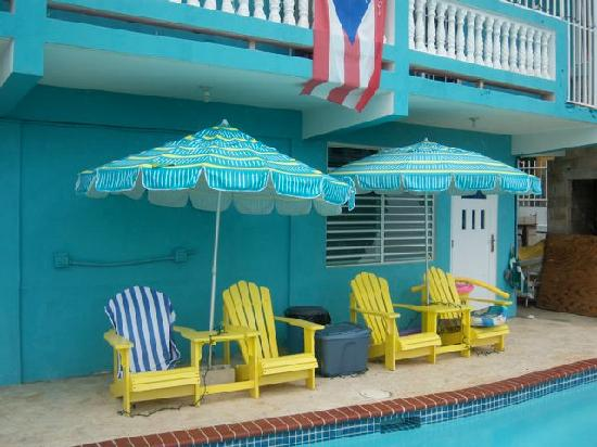 Casa Libre Puerto Rico: Where we would sit and kick back!