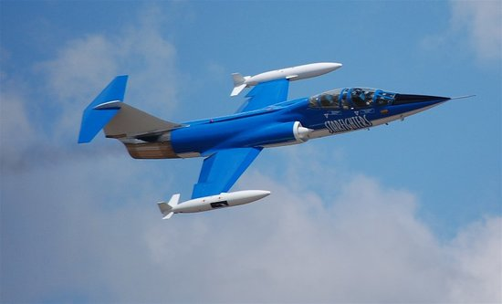 Titusville, FL: F-104 in Flight
