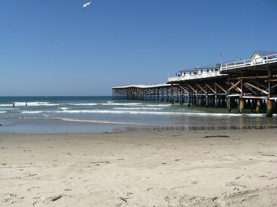 San Diego, Californie : Pacific Beach/ Crystal Pier 