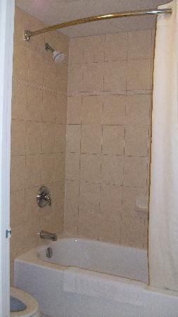 Comfort Inn Fallsview: Shower
