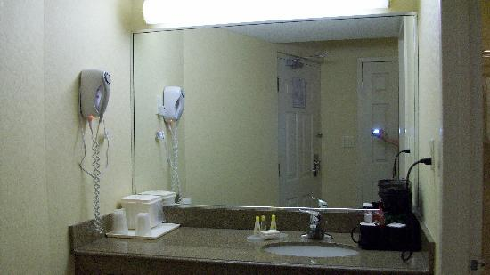 Comfort Inn Fallsview: Bathroom