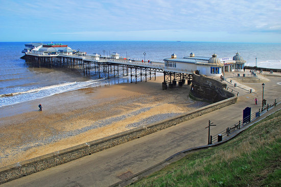 Norwich, UK : Cromer Pier - A good old fashioned seaside day out for all the family.  Take the train and you c