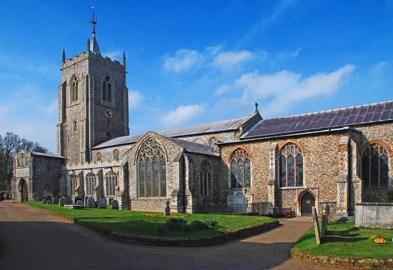 Norwich, UK : Aylsham Village, one of Norfolk's many picturesque villages