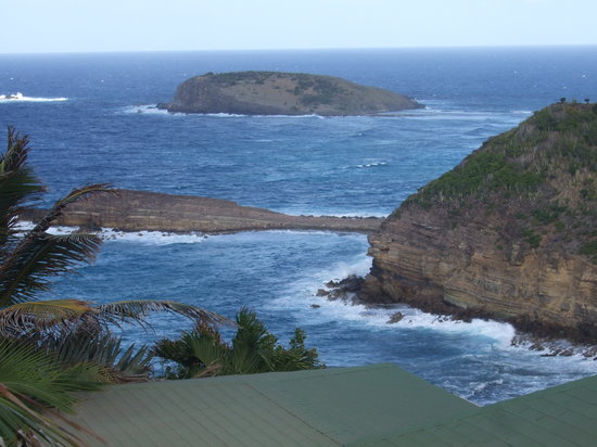 St. Barthélemy: View from Point Milou