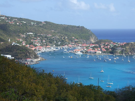 St. Barthélemy: View from Our Villa