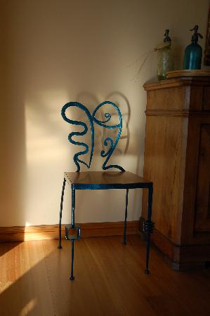 Petite Provence: one of Guy&#39;s chairs