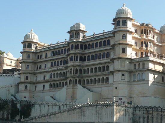 Udaipur, Inde : City Palace