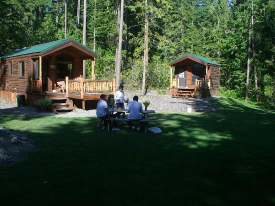 Port Townsend, : Great cabins